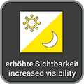 erhöhte Sichtbarkeit / increased visibility