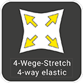 Vier-Wege-Stretch / four-way-elastic