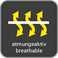 Atmungsaktiv / breathable