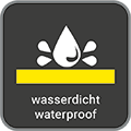 Wasserdicht / waterproof